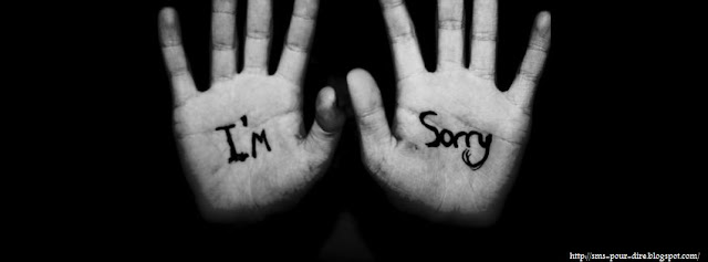Modèle sms désolé