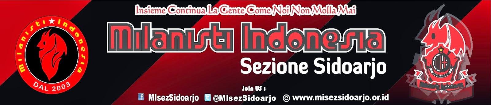 La Comunita dei Tifosi Milan a Sidoarjo