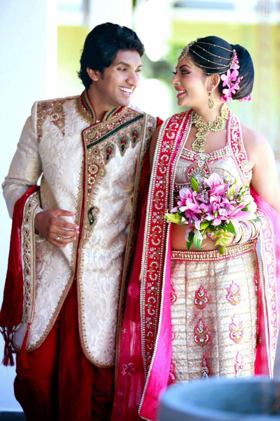 sl couple udari kaushalya