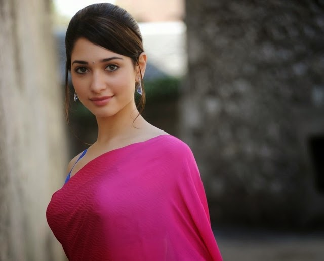 Tamanna Bhatia in hot Saree