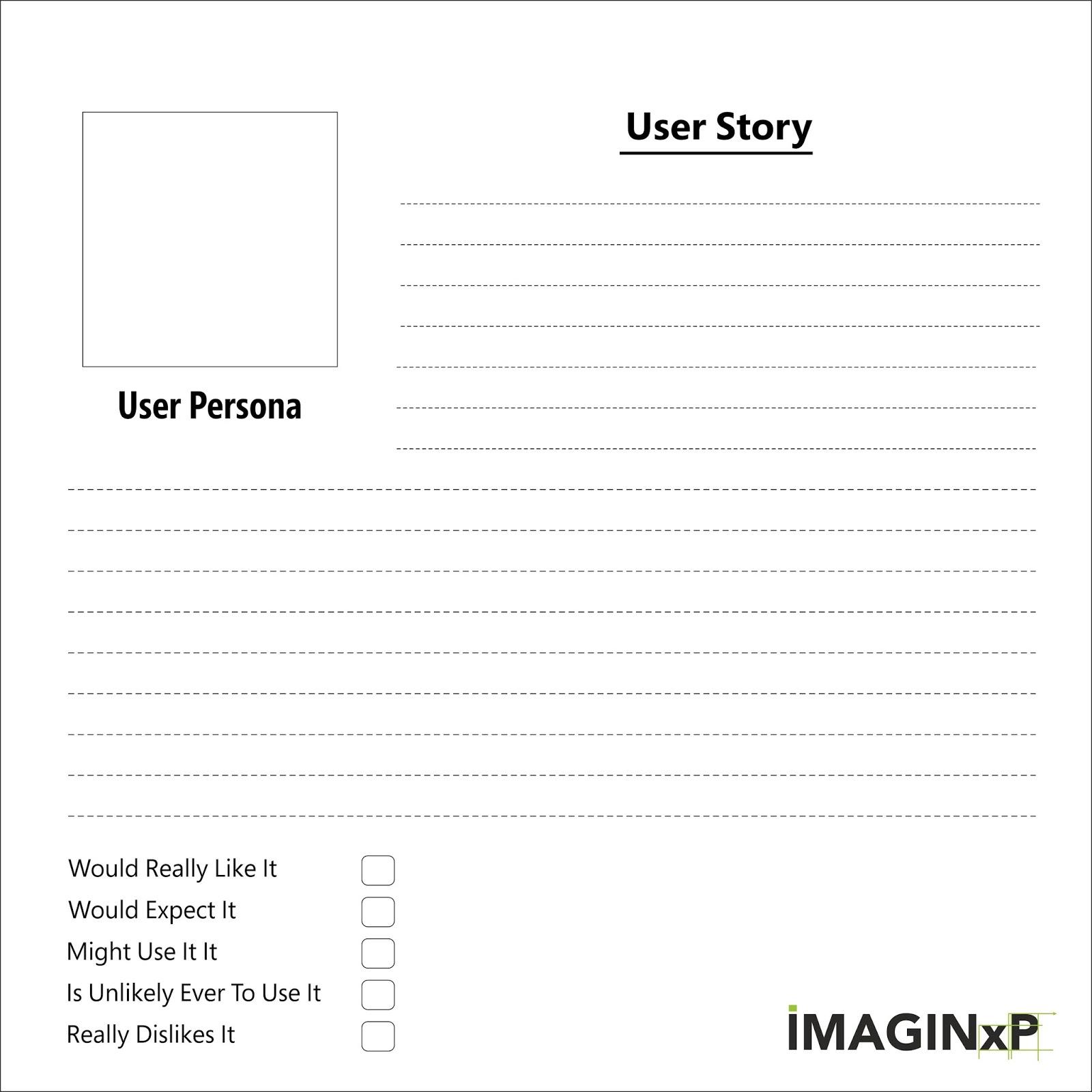 imaginxp beginner 39 s guide to user stories. Black Bedroom Furniture Sets. Home Design Ideas