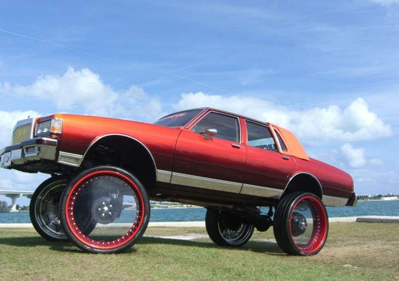 Best Auto Truck Donks Images On Pinterest Crazy Cars Donk