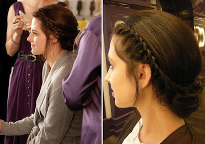 Bella Swan Braided Hairstyle