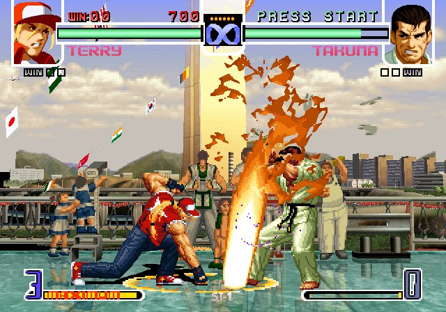 BAJAR THE KING OF FIGHTER 98 PARA PC