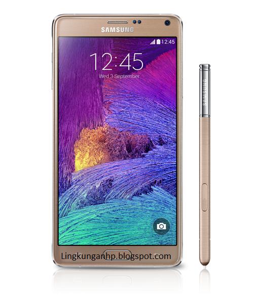 smartphone terbaru Samsung Galaxy Note 4 Terbaru