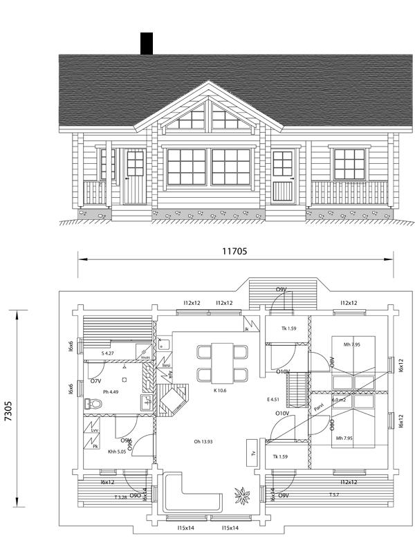 Viviendas unifamiliares arquitectura y construccion vivienda 87 m2 - Casas unifamiliares planos ...