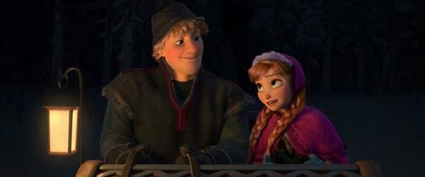 Kristoff y Anna, protagonistas de Frozen: El Reino de Hielo