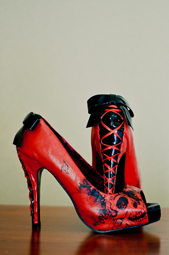 Medieval Wedding Dresses Punk And Gothic Bridal Shoe Ideas