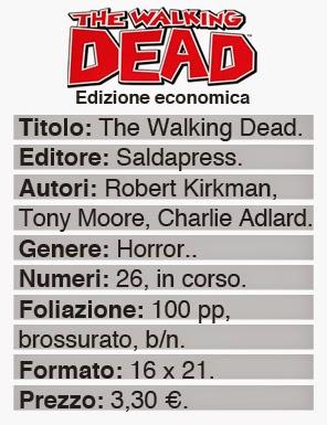 saldapress the walking dead edizione economica charlie adlard robert kirkman dati info