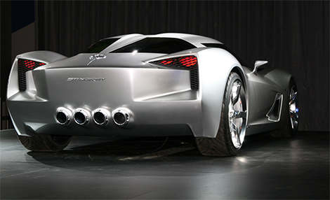 Corvette Stingray Rear on 2011 Corvette Stingray Concept   Glorious Car  2011 Corvette Stingray