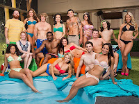 Big Brother 15 Cast Backyard