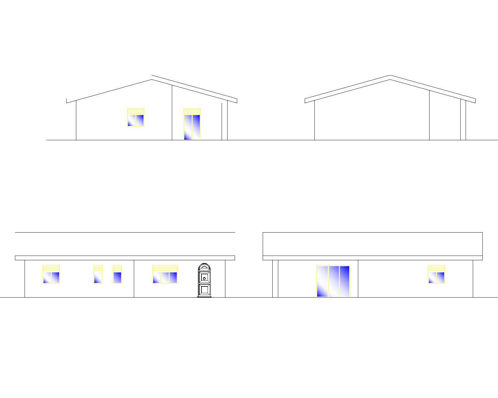 Progetti di case in legno casa 115 mq portico 25 mq for Progetti di portico anteriore