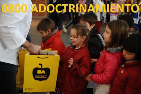 Adoctrinamiento en las escuelas....