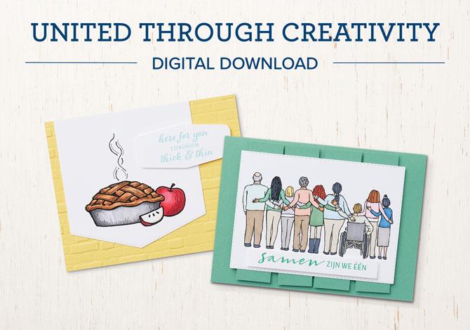 United Through Creativity Digital Download