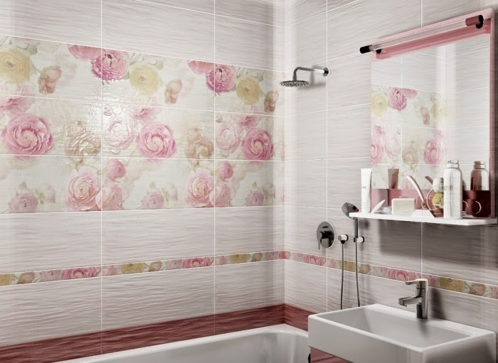 Small Toilet Wall Tiles Design : Top catalog of bathroom tile design ideas for small bathrooms