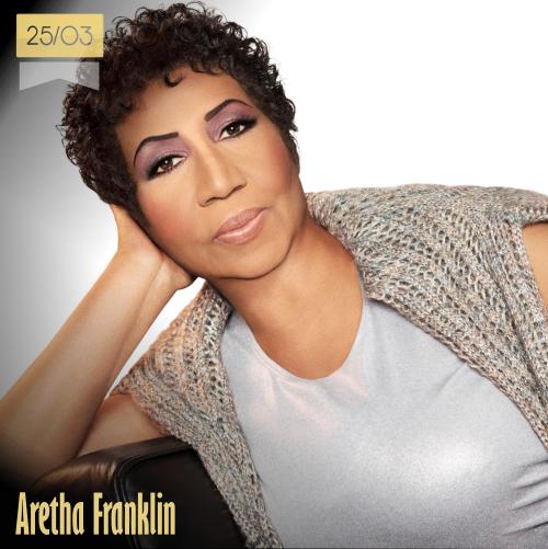 25 de marzo | Aretha Franklin - @ArethaFranklin | Info + vídeos