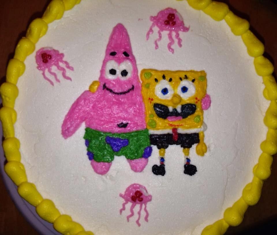 Cake Decorations Montgomery Al : Adam s Best Cake Decorating: Sponge Bob and Patrick