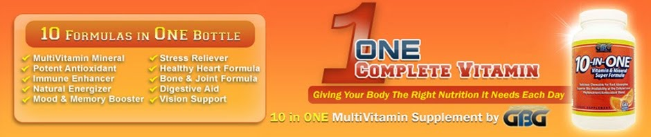 GBG 10 in One Multi Chewable Vitamins