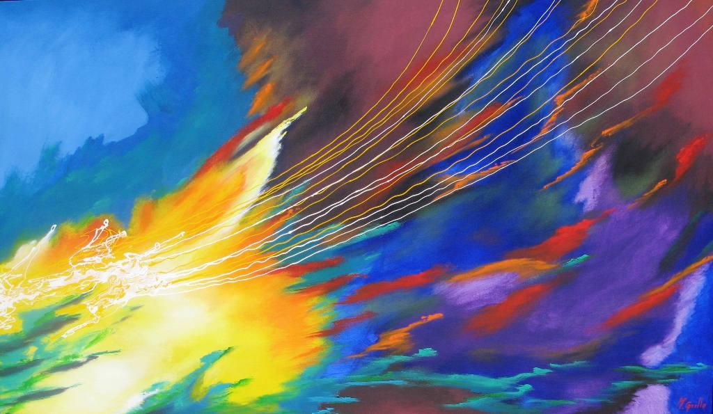 Im genes arte pinturas pinturas abstractos modernos for Fotos cuadros abstractos modernos