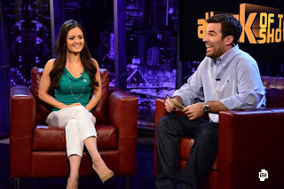 Danica McKellar, voice of Miss Martian, is interviewed by Attack Of The Show
