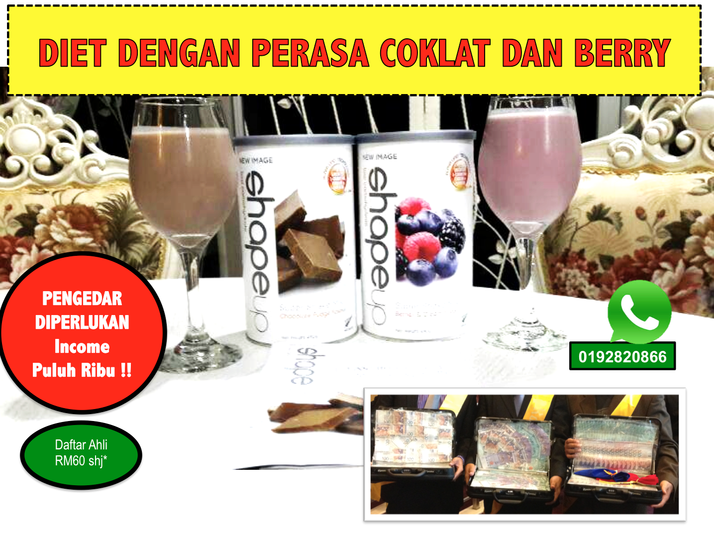 ALPHA LIPID SHAPE UP promosi hebat Promosi Hebat