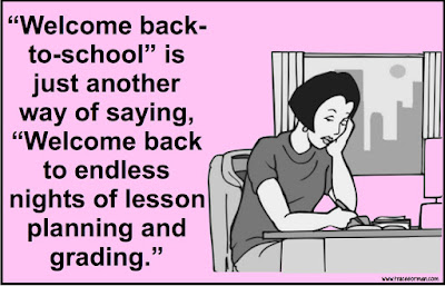 Welcome back to the overwhelming workload... (from www.traceeorman.com)