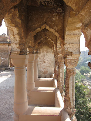 Lucknow Bara Imambara roof view