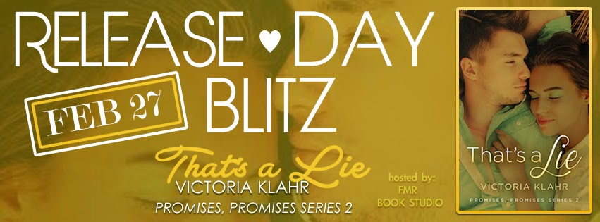 THAT'S A LIE Release Day Blitz & Giveaway