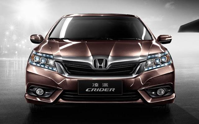 Novo Honda City 2015 é mostrado na China, com Honda Crider
