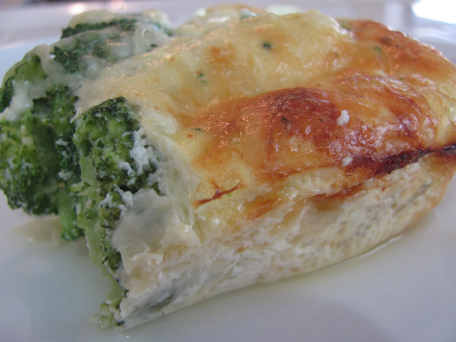 Running Upward: Crustless Broccoli and Cheese Quiche- Make Ahead and ...