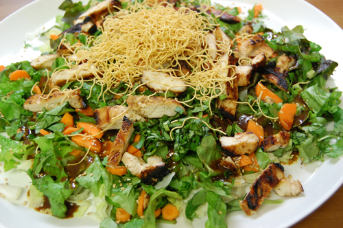 California Pizza Kitchen 39 S Oriental Chicken Salad Funny Stories And Fun With Friends In New