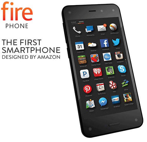 Amazon Fire Phone with 3D Display