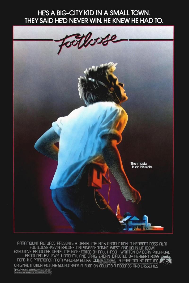 Original 1984 Footloose Movie PosterFootloose Movie Poster 1984
