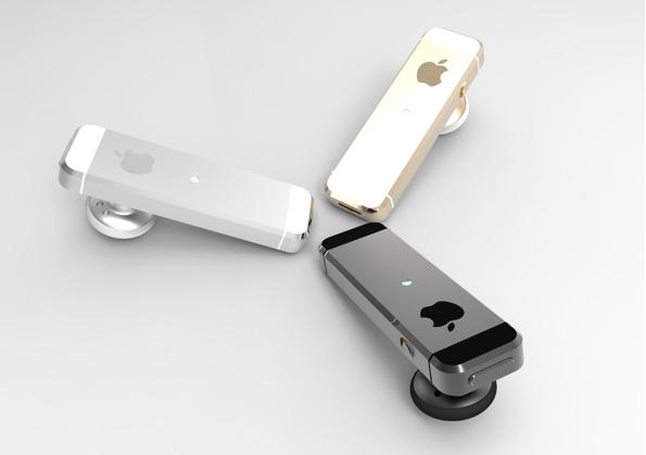 Tai nghe bluetooth phong cách iPhone 5s, ảnh 3
