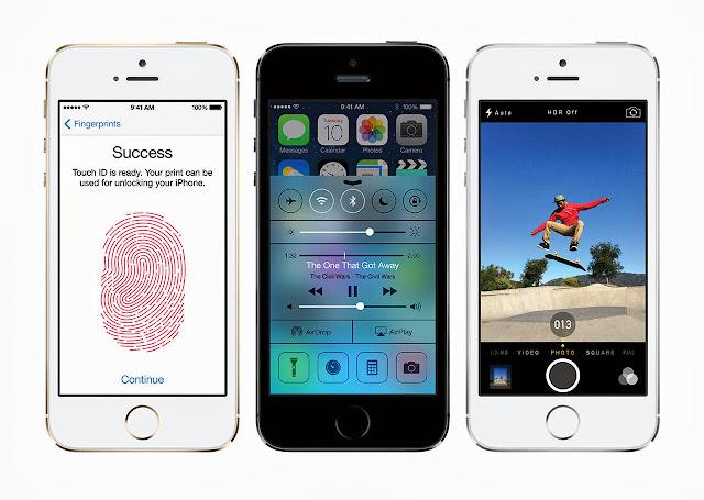 iPhone 5s iOS