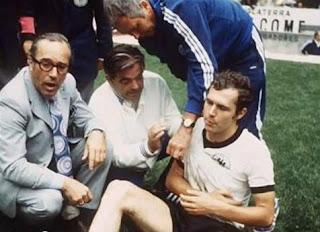 Beckenbauer en México 1970