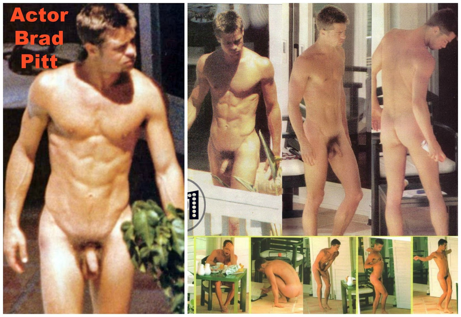 actor men Nude