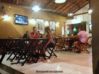 Casa do Caranguejo: Ambiente interno