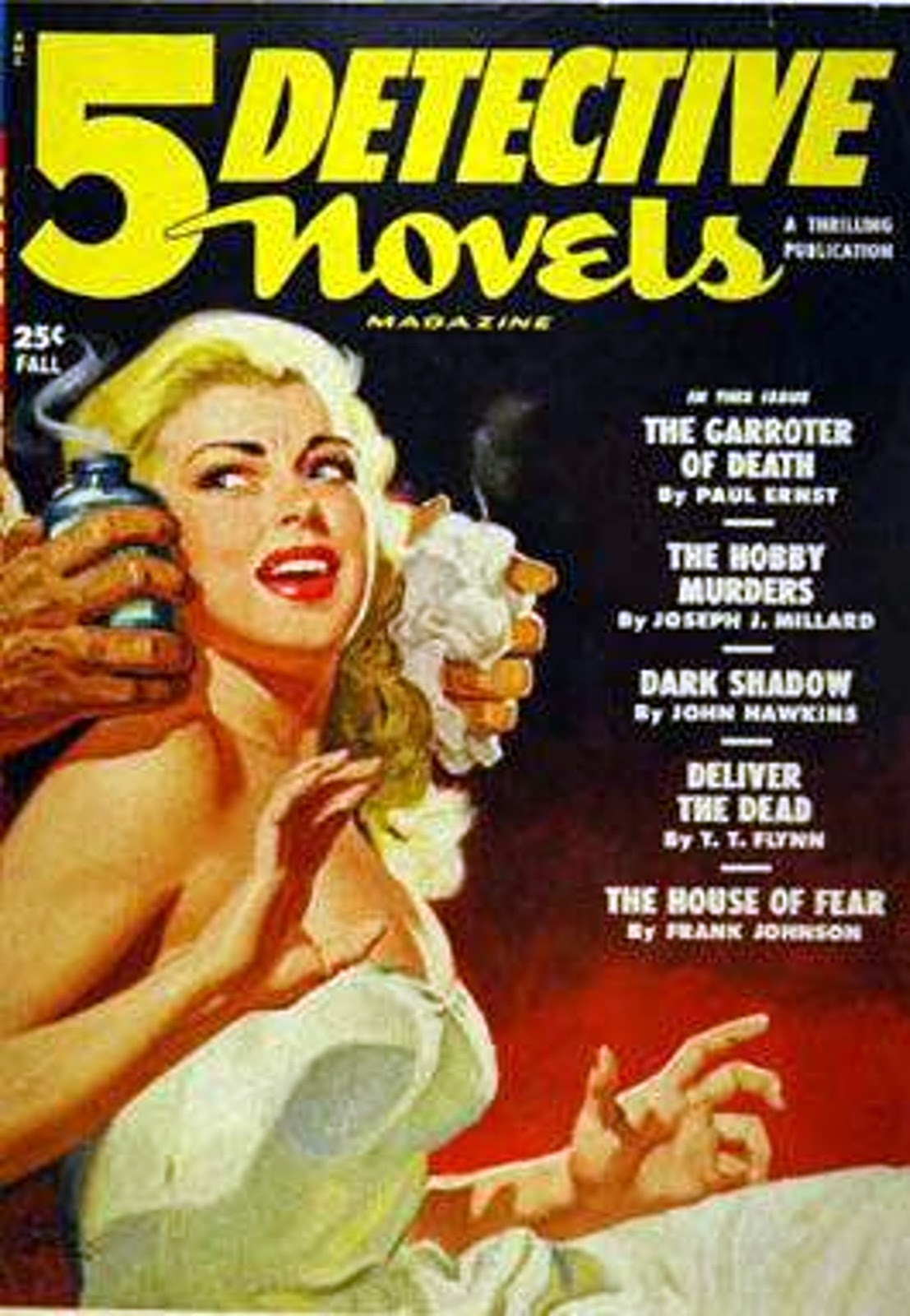 Rough Edges Sunday Morning Bonus Pulp  Detective Novels Fall