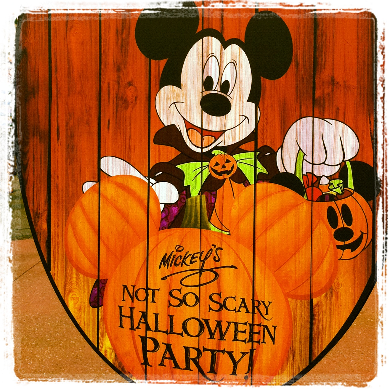 Mickey's Not-So-Scary Halloween Party 2015 Dates
