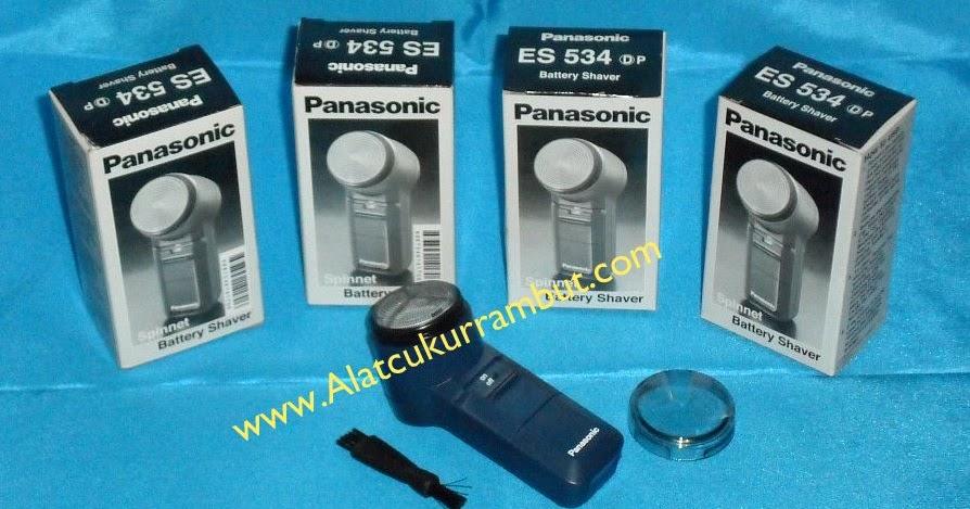 Alat Cukur Kumis Shaver Elecric Panasonic ES 534 Harga