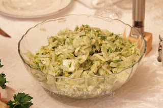 Shaved Fennel Salad with Lemon Zest and Pistachios