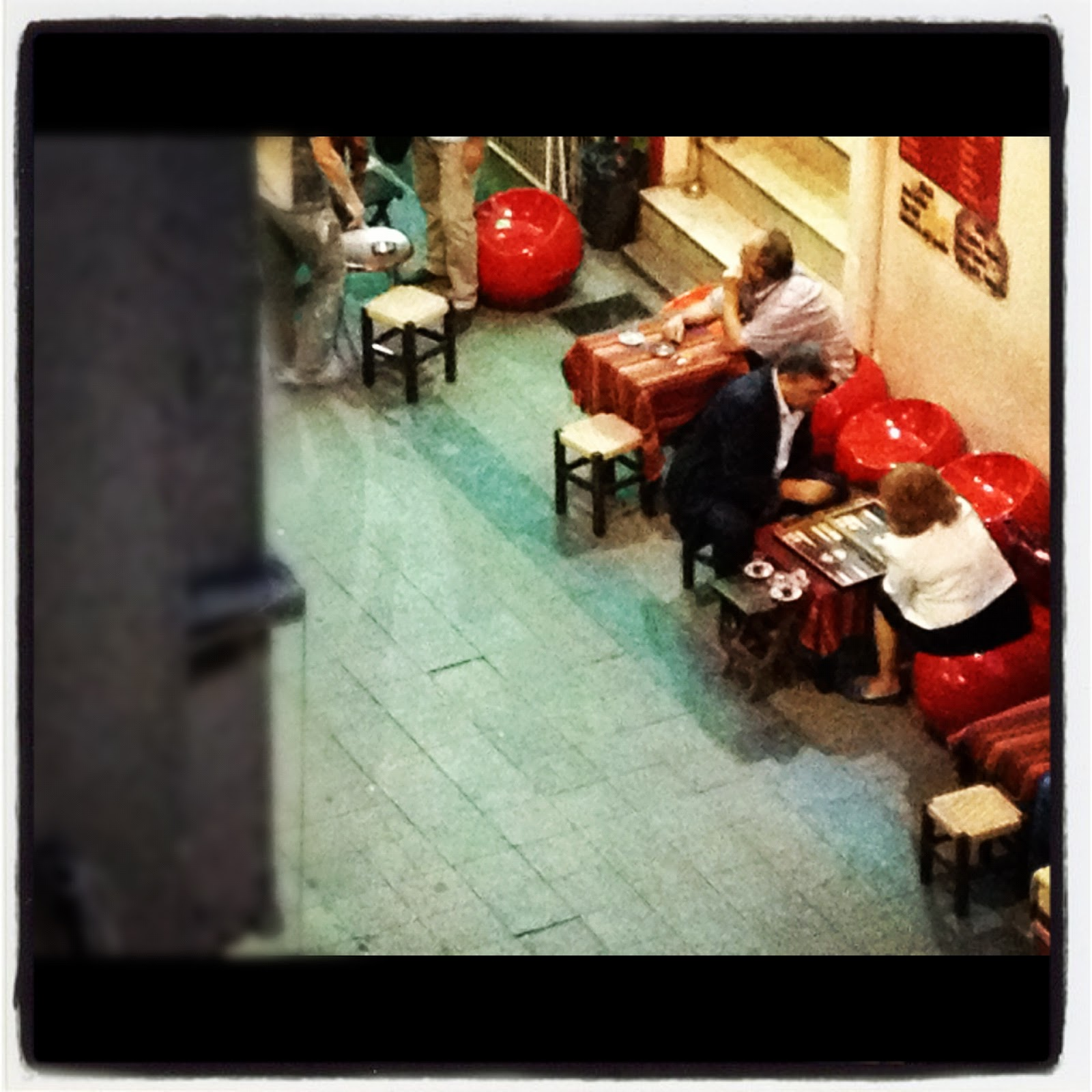 View of a Cafe Istanbul