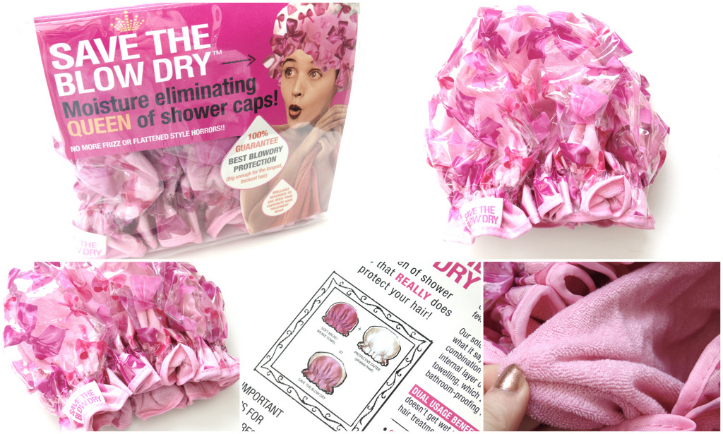 Review: Save The Blow Dry Shower Cap