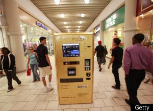 ATM Teknologi Terbaru Yang Bisa Mengeluarkan Emas