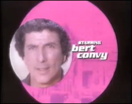 bert convy match game