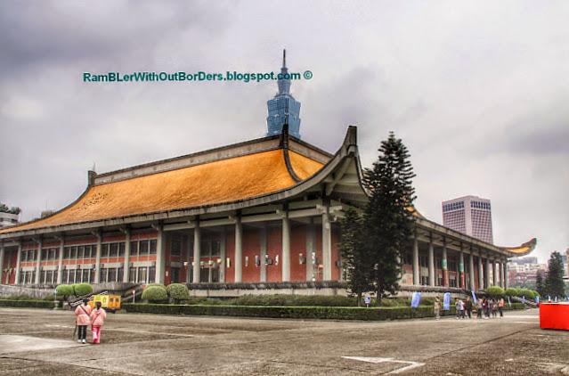 National Sun Yat-Sen Memorial Hall, Taipei, Taiwan