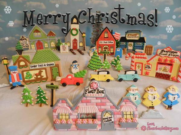 Vila de Natal... Flour Box Bakery - Cookieria By Margaret