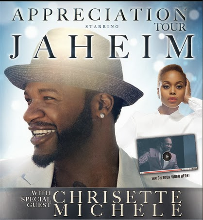 Jaheim & Chrisette Michele in concert