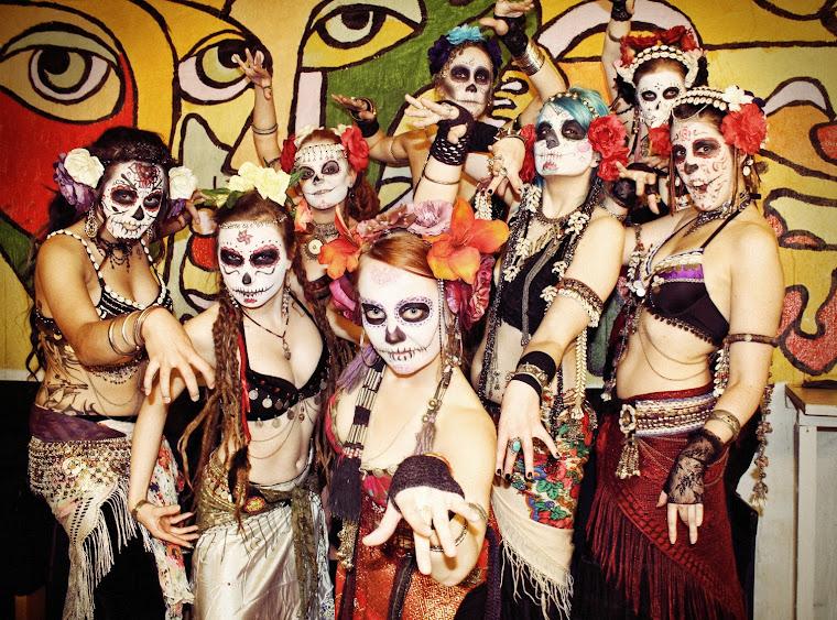 """Kaira Tribe """"Dia de los muertos""""-teemaisessa Ofelia Marketissa 9.12.2012"""